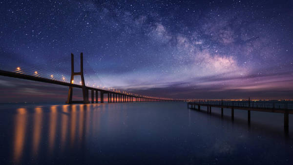 Wall Art - Photograph - Galactic Bridge by Carlos F. Turienzo