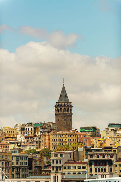 Galata Photograph - Galata Tower In Istanbul by Pixedeli