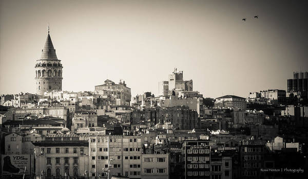 Photograph - Galata Tower by Ross Henton