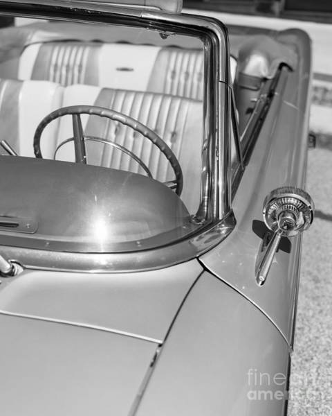 Photograph - Galaxie 500 Convertible by Edward Fielding