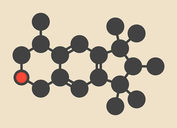 Perfume Photograph - Galaxolide Synthetic Musk Molecule by Molekuul
