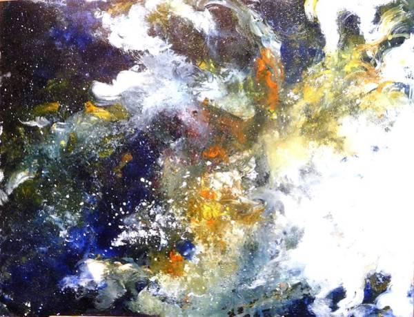 Painting - Galaxy 1 by Betty M M Wong