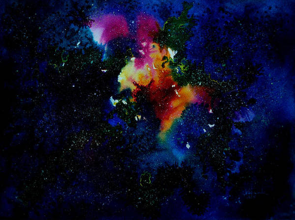 Star Cluster Painting - Galaxy I by Isabel Salvador