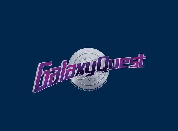 Galaxies Digital Art - Galaxy Quest - Logo by Brand A