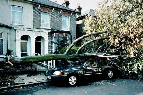 Wall Art - Photograph - Gale Damage In London by Maurice Nimmo/science Photo Library