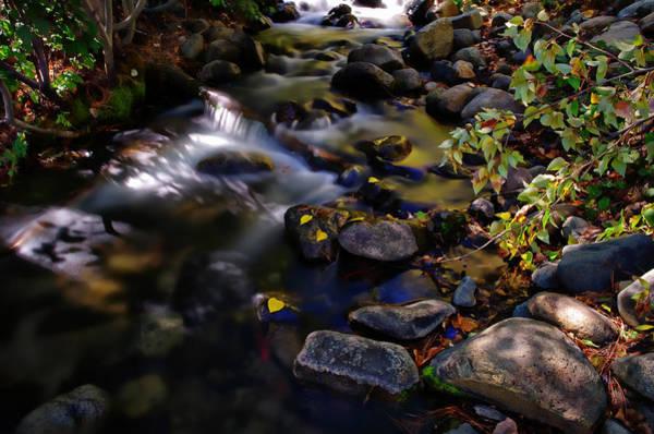 Wall Art - Photograph - Galena Creek Fall Waterfall by Scott McGuire