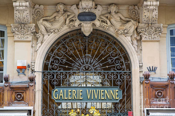 Coverts Photograph - Galerie Vivienne by Brian Jannsen