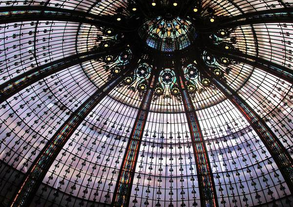 Galeries Lafayette Photograph - Galeries Ceiling by Greg Kear
