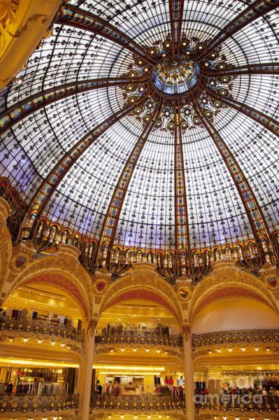 Galeries Lafayette Photograph - Galeries Lafayette Dome by Brian Jannsen