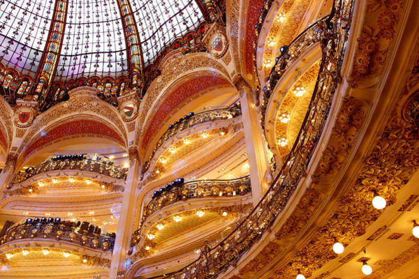 Galeries Lafayette Photograph - Galeries Lafayette by Pati Photography