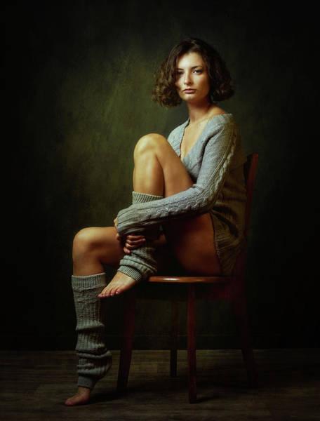 Sitting Wall Art - Photograph - Galina by Zachar Rise