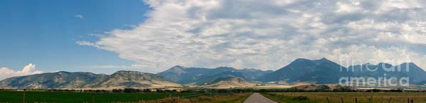 Gallatin Range Panoramic Art Print