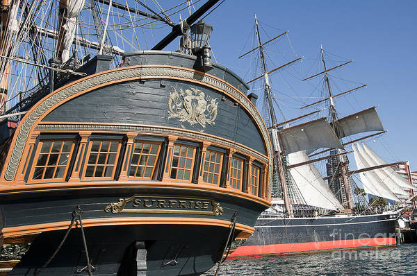 Photograph - Galleon And Clipper by Brenda Kean