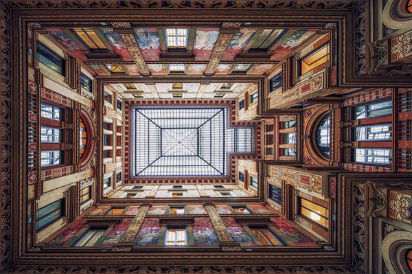 Wall Art - Photograph - Galleria Sciarra, Rome. by Massimo Cuomo