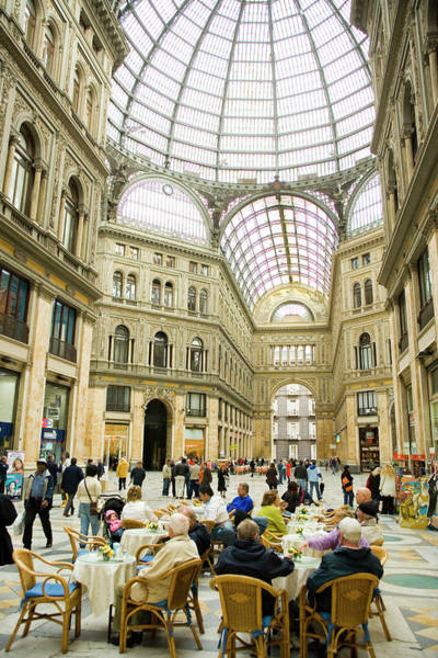 Famous People Photograph - Galleria Umberto, Centro Storico by Greg Elms