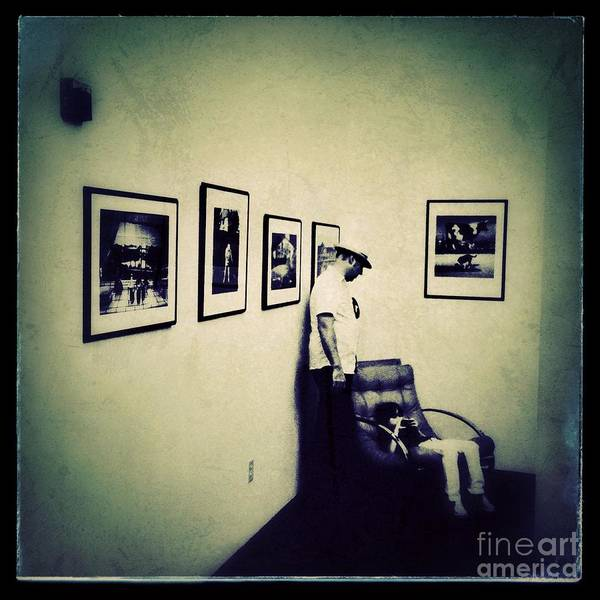 Iphoneography Wall Art - Photograph - Gallery Dwellers by Elena Nosyreva
