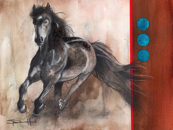 Painting - Gallop by Sean Parnell