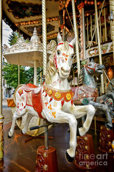 Painted Horses Photograph - Galloper by Olivier Le Queinec