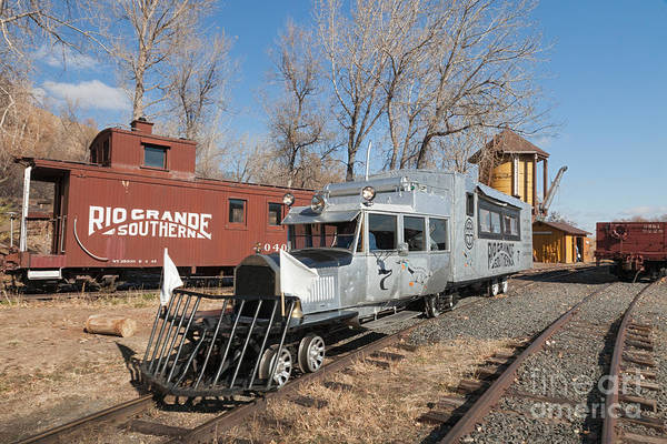 Photograph - Galloping Goose 7 In The Colorado Railroad Museum by Fred Stearns