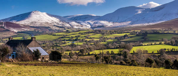 Photograph - Galtee Mountains In Ireland by Pierre Leclerc Photography