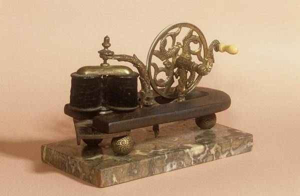 Nineteenth Century Photograph - Galvanism Machine by Science Photo Library