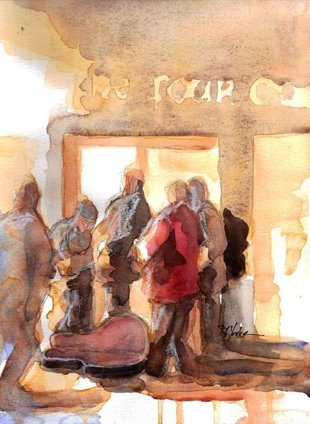 Galway Painting - Galway Band by Robert Yonke