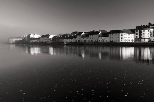 Photograph - Galway City In The Fog Ireland by Pierre Leclerc Photography