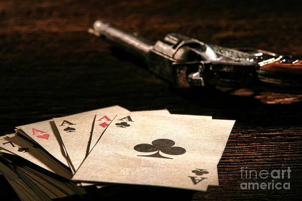 Bandit Photograph - Gambler Danger  by Olivier Le Queinec