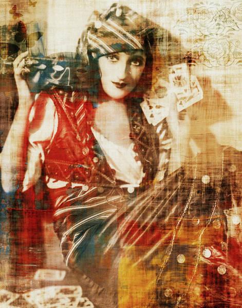 Photograph - Gambling Gypsy by Lora Mercado