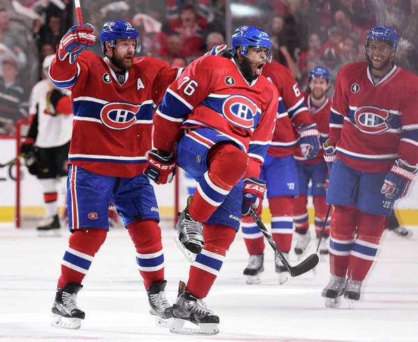 Montreal Photograph - Game Two - Ottawa Senators  V Montreal by Francois Lacasse