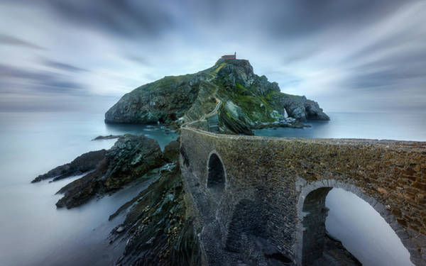 Silky Wall Art - Photograph - Games Of Thrones - Dragonstone Island -san Juan De Gaztelugatxe by Jes?s M. Garc?a