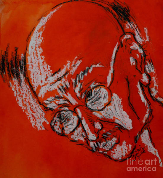 Kannan Painting - Gandhi by Sooraj Kannan