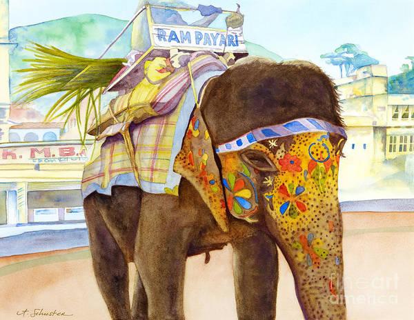 Ganesh Painting - Ganesh by Amanda Schuster