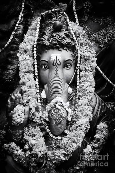 Yogic Wall Art - Photograph - Ganesha Altar  by Tim Gainey