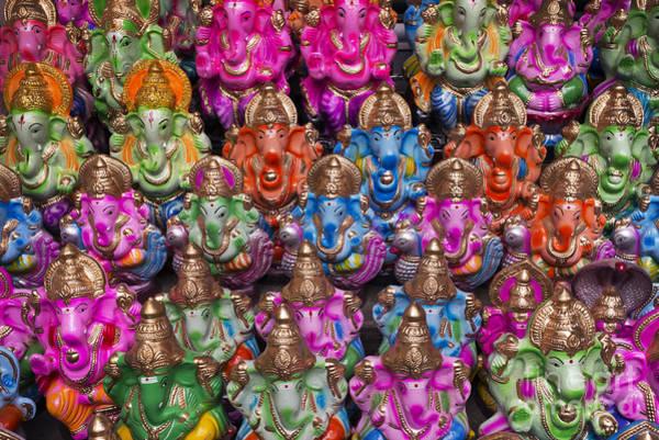 Photograph - Ganesha Statue Pattern by Tim Gainey