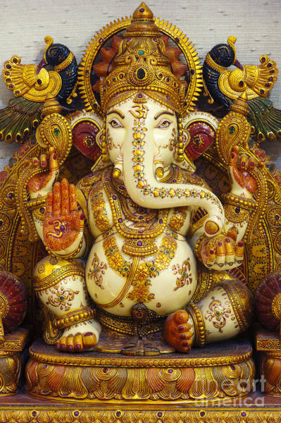 Yogic Wall Art - Photograph - Ganesha  by Tim Gainey