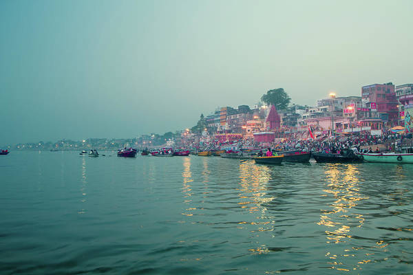 Ganges River Photograph - Ganga River, Varanasi by Enn Li  Photography