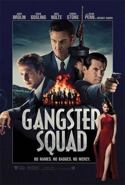 Ryan Gosling Photograph - Gangster Squad by Movie Poster Prints