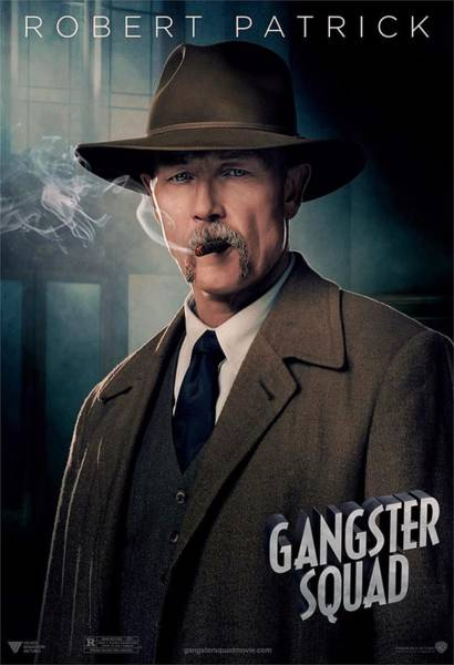 Ryan Gosling Photograph - Gangster Squad Patrick by Movie Poster Prints