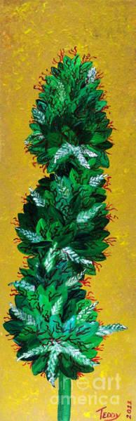 Dope Painting - Ganja by Teddy Maritopia