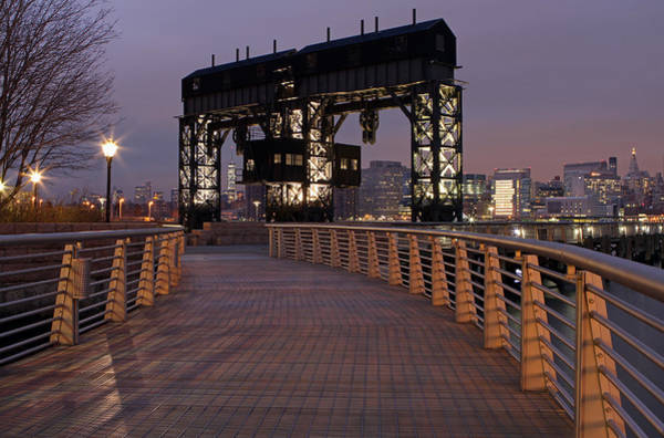 Photograph - Gantry Plaza - Long Island City - Queens - Ny by Juergen Roth
