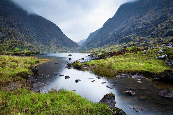 Killarney Photograph - Gap Of Dunloe, Auger Lake by Jorg Greuel