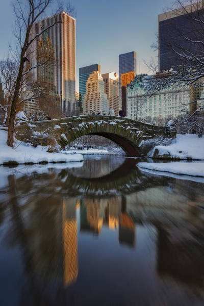 Photograph - Gapstow Bridge by Susan Candelario