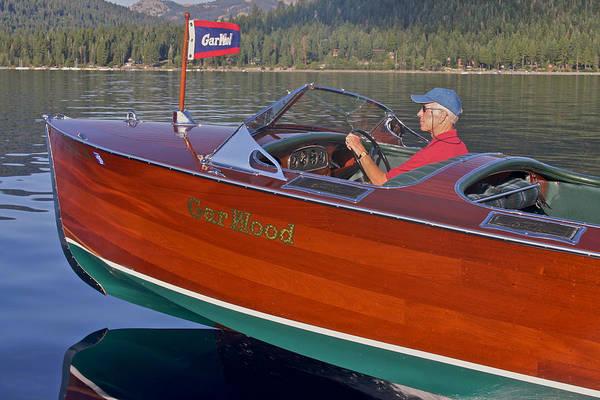 Photograph - Gar Wood Speedboat by Steven Lapkin