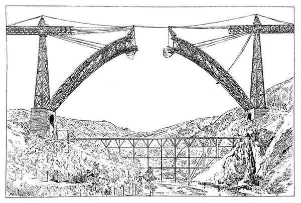 Charles Bridge Photograph - Garabit Viaduct by Science Photo Library