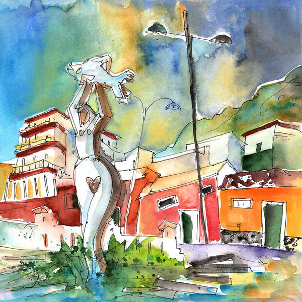 Painting - Garachico 04 by Miki De Goodaboom