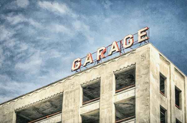 Parking Photograph - Garage by Scott Norris