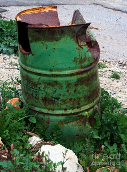 Photograph - Garbage Bin - Impressionist Work by Doc Braham