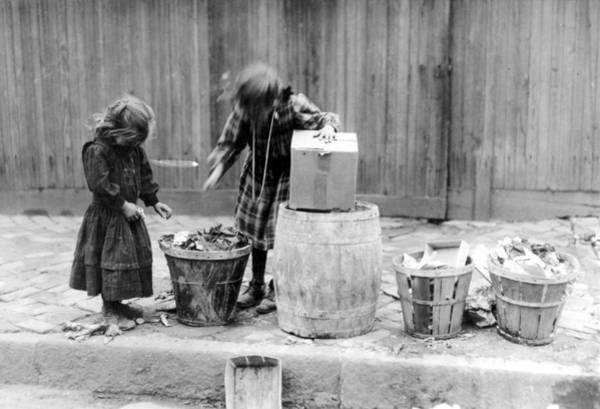 Photograph - Garbage Gleaners, 1910 by Granger