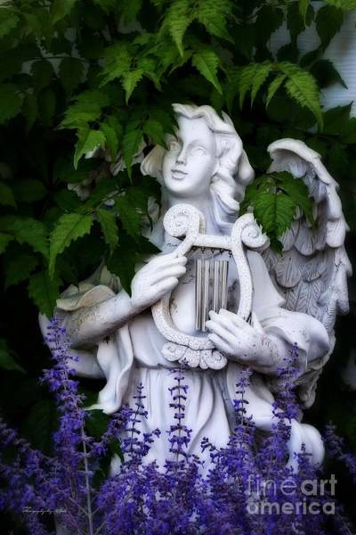 Photograph - Garden Angel by Ms Judi